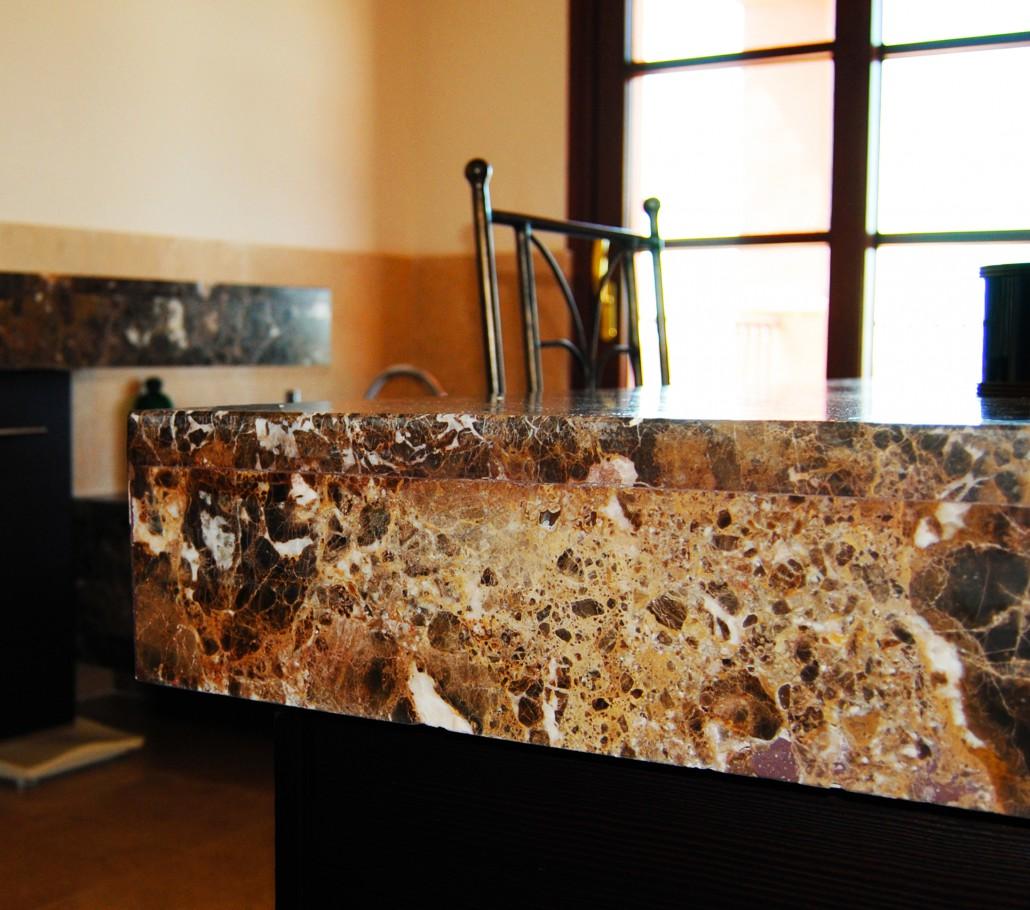 Encimeras de ba o encimeras en piedra natural - Encimera piedra ...